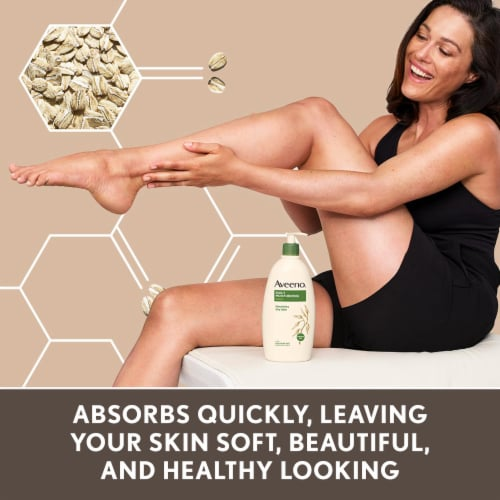 Aveeno Daily Moisturizing Lotion Perspective: right