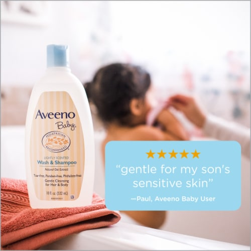 Aveeno Baby Wash & Shampoo Perspective: right