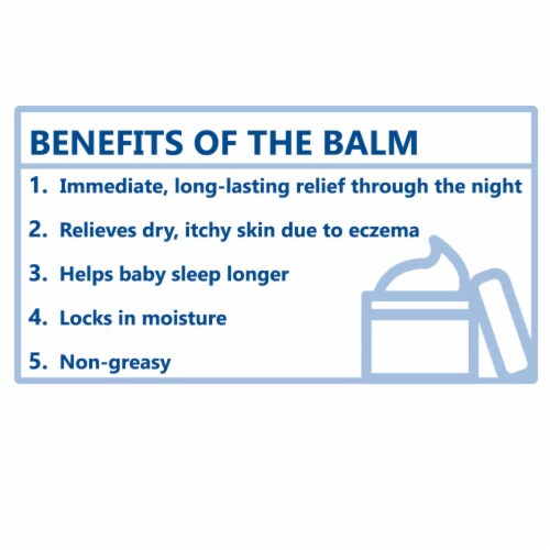 Aveeno Baby Eczema Therapy Nighttime Balm Perspective: right