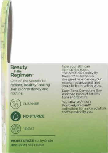 Aveeno Positively Radiant Gel Moisturizer Perspective: right
