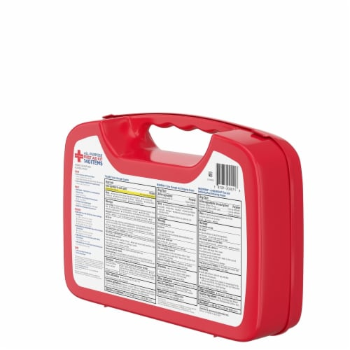Johnson & Johnson® All-Purpose First Aid Kit Perspective: right