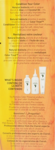 Clairol Natural Instincts Pecan Medium Golden Brown Hair Color Perspective: right