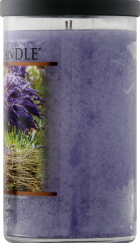 Village Candle French Lavender Candle - Purple Perspective: right
