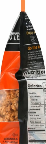 KIND Healthy Grains® Gluten Free Peanut Butter Whole Grain Clusters Family Size Perspective: right