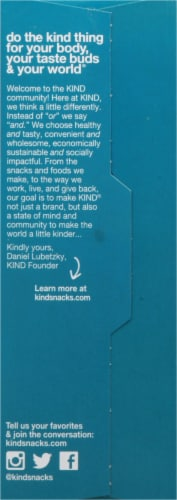 KIND Dark Chocolate Almond Oatmeal Packets Perspective: right
