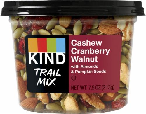 KIND® Cashew Cranberry Walnut Trail Mix Perspective: right