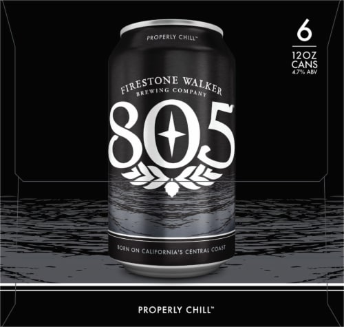 Firestone Walker 805 Ale Beer Perspective: right
