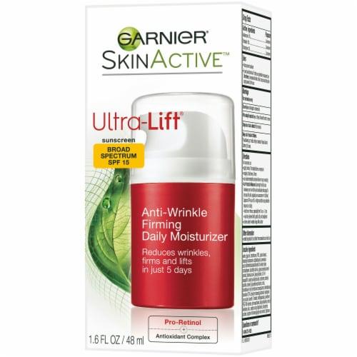Garnier SkinActive Ultra-Lift Anti-Wrinkle Firming Moisturizer Broad Spectrum SPF 15 Perspective: right
