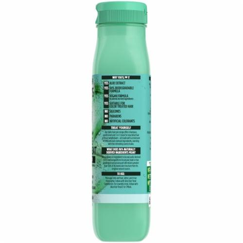 Garnier® Fructis® Hydrating Treat Aloe Extract Shampoo Perspective: right