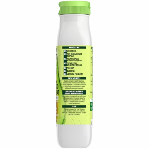 Garnier Fructis Avocado Extract Smoothing Treat Conditioner Perspective: right