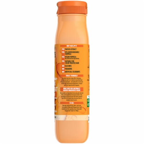 Garnier® Fructis® Papaya Extract Damage Repairing Treat Shampoo Perspective: right