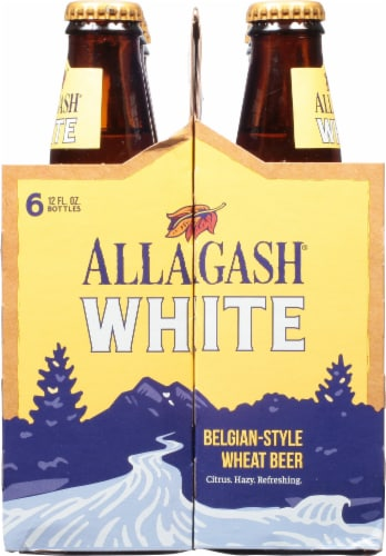 Allagash White Belgian-Style Wheat Beer Perspective: right