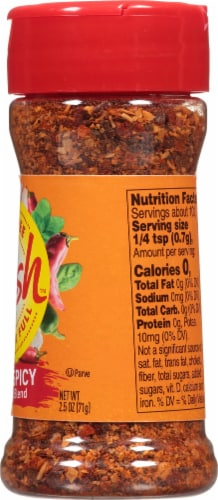 Mrs. Dash Extra Spicy Seasoning Blend Perspective: right