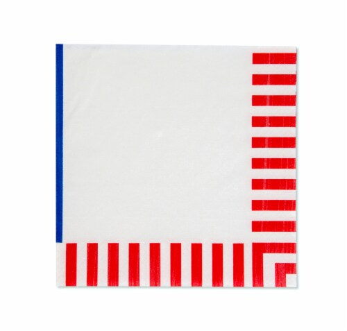 American Greetings Patriotic Paper Napkins Perspective: right