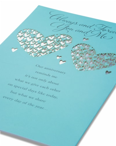 American Greetings Wedding Anniversary Romantic Card (Greatest Gift) Perspective: right