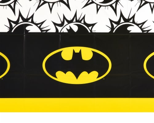 American Greetings Batman Plastic Table Covers Perspective: right