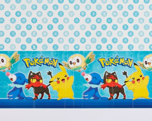 American Greetings Pokemon Plastic Table Covers Perspective: right