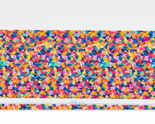 American Greetings Confetti Birthday Table Cover Perspective: right