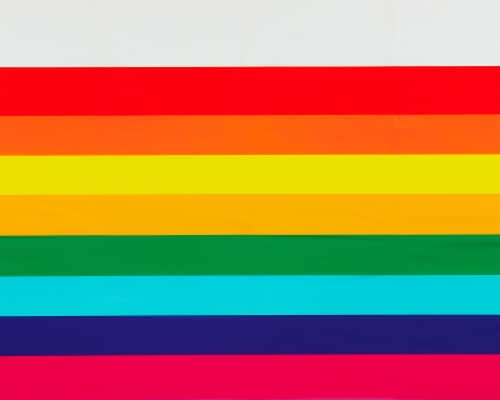 American Greetings Rainbow Plastic Table Covers Perspective: right