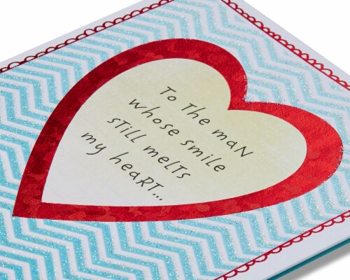 American Greetings Anniversary Card for Husband (Melts My Heart) Perspective: right
