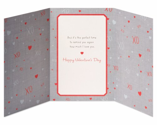 American Greetings #63 Valentine's Day Card for Husband (Great Memories) Perspective: right