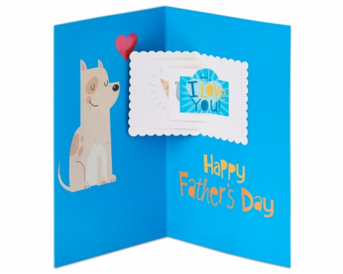 American Greetings Father's Day Card (Little Thoughts) Perspective: right