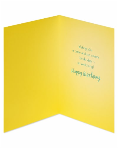 American Greetings #32 Birthday Cards (Celebrate) Perspective: right