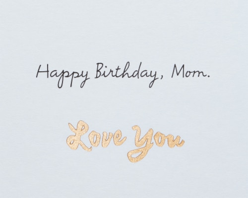American Greetings #23 Birthday Card for Mom (Grateful) Perspective: right