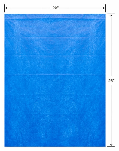 American Greetings #13 All Occasion Blue Tissue Paper Perspective: right