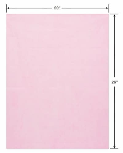 American Greetings #11 All Occasion Pink Tissue Paper Perspective: right