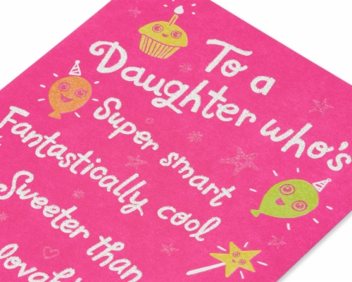 American Greetings Birthday Card for Daughter (Better and Better Every Year) Perspective: right