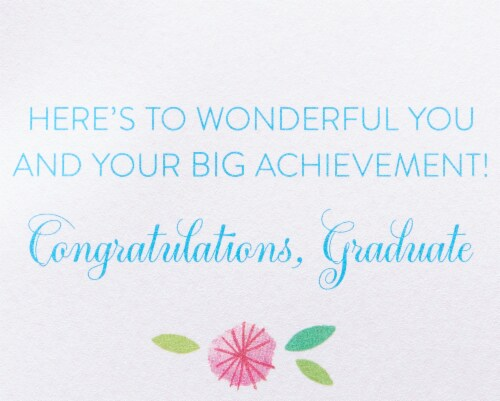 Papyrus Graduation Card (Wonderful You) Perspective: right
