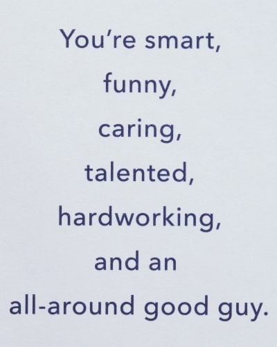American Greetings #28 Birthday Card for Son (To A Great Son) Perspective: right