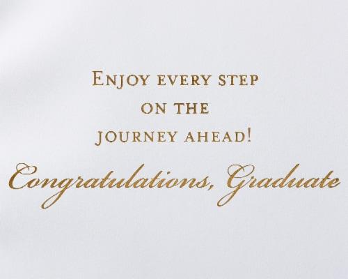 Papyrus #54 Graduation Card (Achieve) Perspective: right
