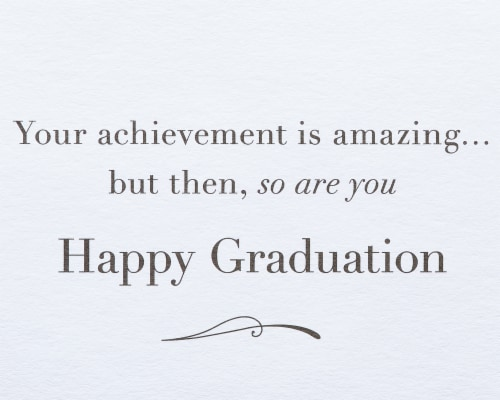 Papyrus #55 Graduation Card (Mortarboard) Perspective: right