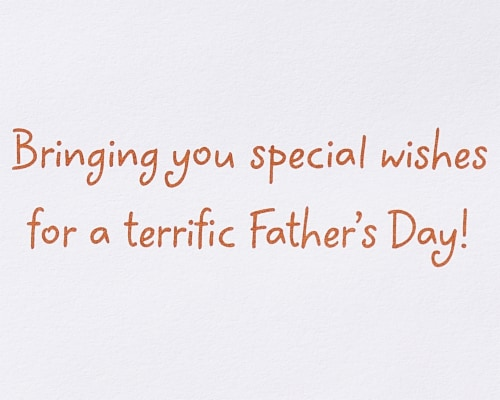 Papyrus #56 Father's Day Card (Dog and Newspaper) Perspective: right