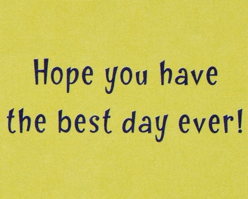 American Greetings #65 Father's Day Card (Best Day Ever) Perspective: right