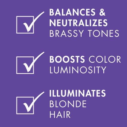 Nexxus Blonde Assure Color Toning Purple Shampoo Perspective: right