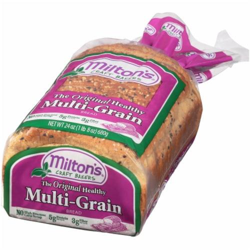 Milton's Multi-Grain Bread Perspective: right