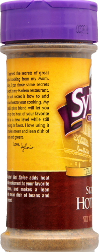 Sylvia's Sizzilin' Hot Spice Perspective: right