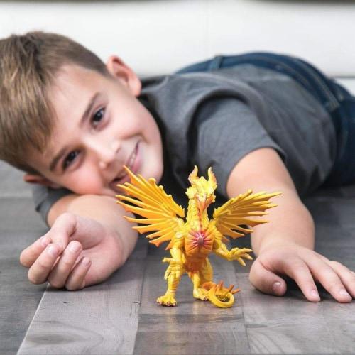 Safari 10134 Sun Dragon Figurine, Multi Color Perspective: right