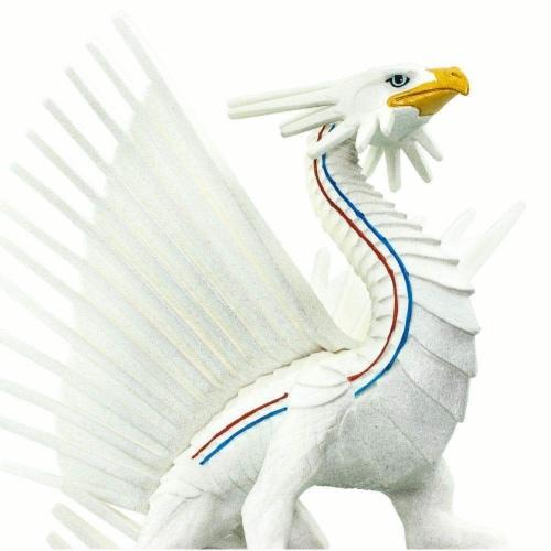 Safari 100252 Freedom Dragon Figurine, Multi Color Perspective: right