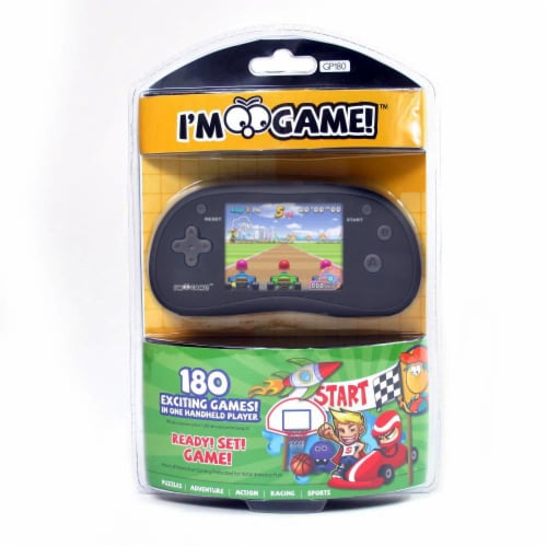 GP-180 Handheld Game with 220-Exciting Games - Black Perspective: right
