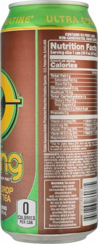 Bang Lemon Drop Sweet Tea Energy Drink Perspective: right