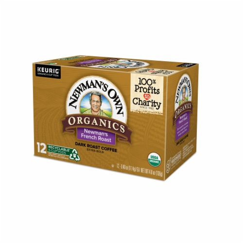 Newman's Own Organic French Roast K-Cup Pods Perspective: right