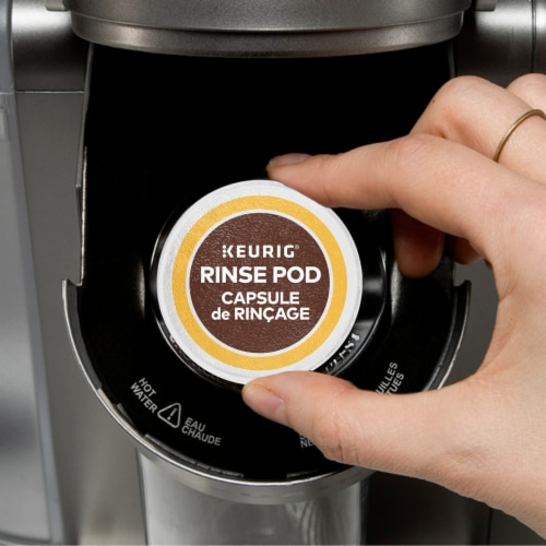 Keurig® Hot Rinse Pods Perspective: right