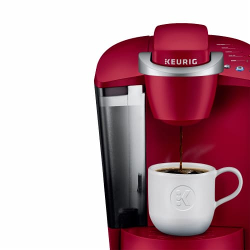 Keurig® K-Classic Single Serve Coffee Brewer - Rhubarb/Silver Perspective: right