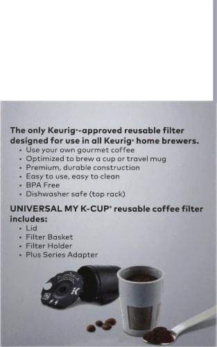 Keurig Universal My K-Cup Filter Perspective: right