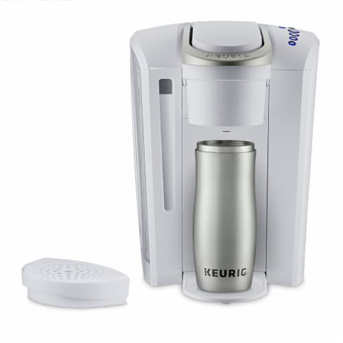 Keurig® K-Select Single-Serve K-Cup® Pod Coffee Maker - Matte White Perspective: right