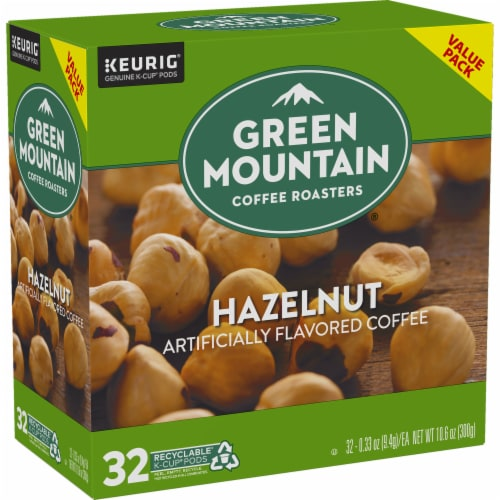 Green Mountain Coffee Roasters Hazelnut Coffee K-Cup Pods Perspective: right